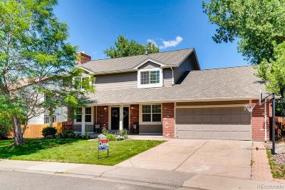 Centennial Single Family Home Under Contract: 7864 South Harrison Circle