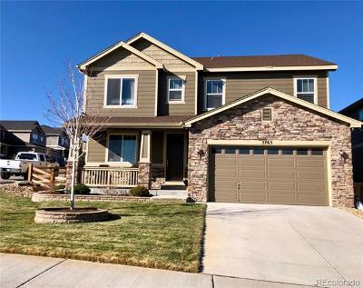 Castle Rock Single Family Home Active: 5765 Littlehouse Lane