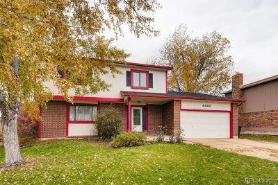 Thornton Single Family Home Active: 4460 East 121st Court