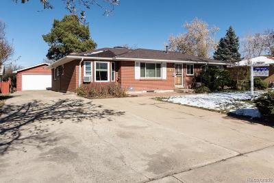 Aurora CO Single Family Home Active: $327,900