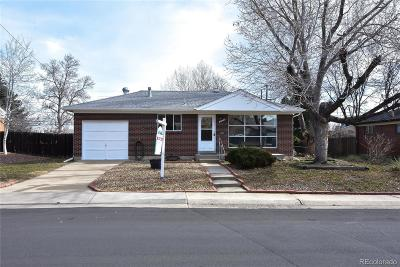 Northglenn Single Family Home Under Contract: 10978 Murray Drive