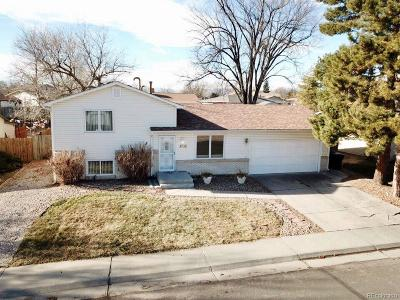 Thornton Single Family Home Under Contract: 3732 East 114th Drive