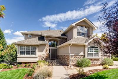 Castle Rock Single Family Home Under Contract: 3544 Elk Run Drive