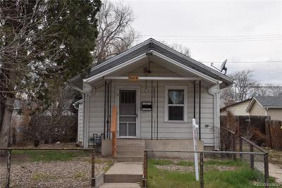Edgewater Single Family Home Under Contract: 2407 Eaton Street