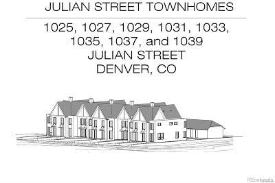 Denver Residential Lots & Land Sold: 1035 Julian Street