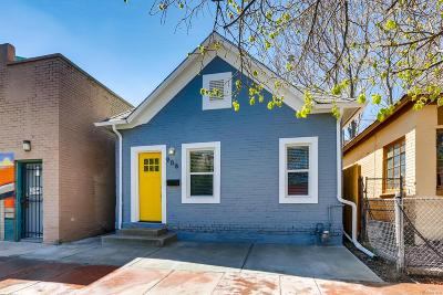 Baker, Baker/Santa Fe, Broadway Terrace, Byers, Santa Fe Arts District Single Family Home Active: 908 West 9th Avenue