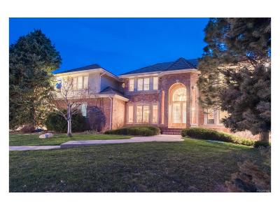 Highlands Ranch Single Family Home Active: 18 Red Tail Drive