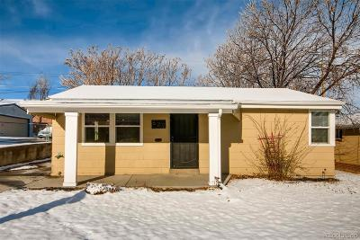 Denver Single Family Home Under Contract: 627 Vrain Street