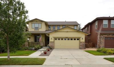 Commerce City Single Family Home Under Contract: 10734 Telluride Street