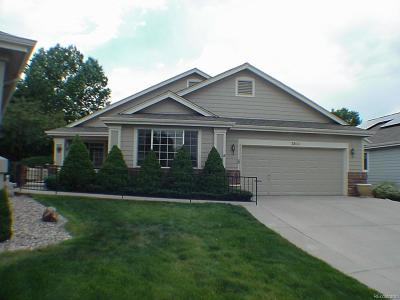 Wheat Ridge Single Family Home Under Contract: 3899 Lee Circle