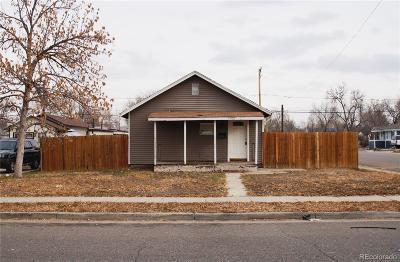 Aurora, Denver Single Family Home Under Contract: 1900 Dallas Street