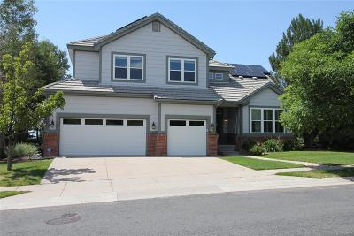 Aurora Single Family Home Active: 6379 Saddle Rock Trail