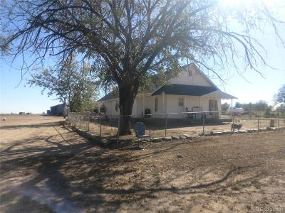 Keenesburg Single Family Home Active: 33550 Highway 52