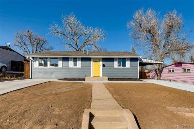 Aurora, Denver Single Family Home Under Contract: 721 Campo Street
