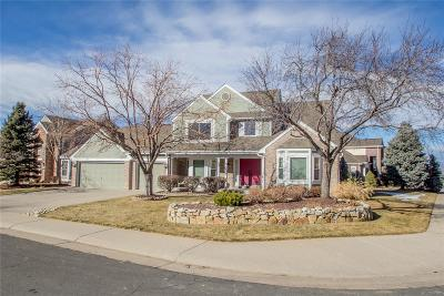 Highlands Ranch, Lone Tree Single Family Home Under Contract: 9425 Indian Paintbrush Court