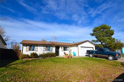 Thornton Single Family Home Active: 3695 East 89th Place