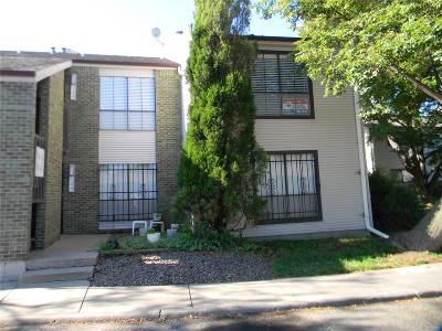 Denver Condo/Townhouse Under Contract: 3550 South Harlan Street #124