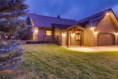 Steamboat Springs CO Single Family Home Under Contract: $800,000