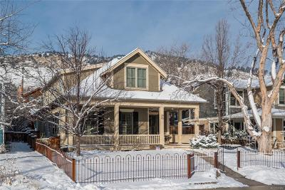 Boulder Single Family Home Under Contract: 2905 6th Street