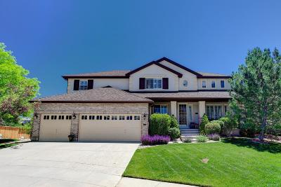 Highlands Ranch Single Family Home Under Contract: 1050 Graland Place