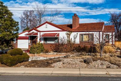 Denver Single Family Home Active: 3001 North Garfield Street