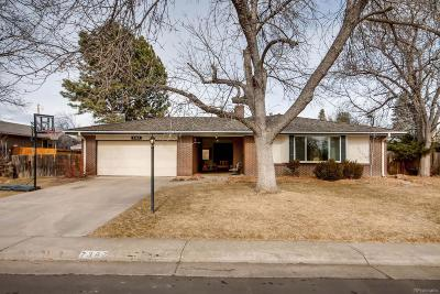 Littleton Single Family Home Active: 7387 South Platte Canyon Drive