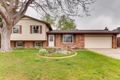 Thornton Single Family Home Under Contract: 12861 Garfield Circle