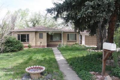 Lakewood Single Family Home Active: 2580 Teller Street
