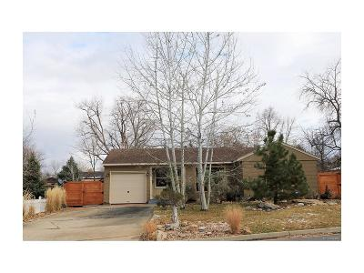 Wheat Ridge Single Family Home Active: 4020 Cody Street