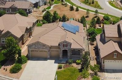 Highlands Ranch Single Family Home Active: 10438 Skyreach Way
