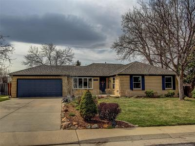 Lakewood Single Family Home Under Contract: 12244 West Applewood Knolls Drive
