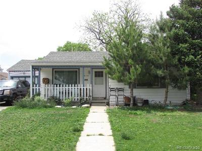 Denver Single Family Home Active: 915 South Dale Court