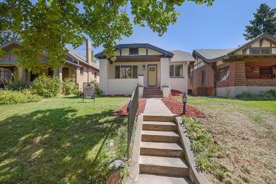 Denver Single Family Home Active: 2050 Dexter Street
