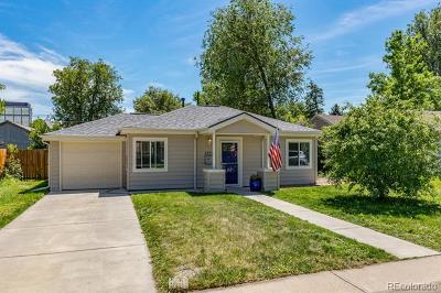 Denver Single Family Home Active: 1840 South Cook Street
