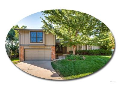 Centennial Single Family Home Under Contract: 7255 South Steele Circle