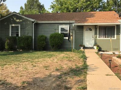 Thornton Single Family Home Under Contract: 9291 Hoffman Way