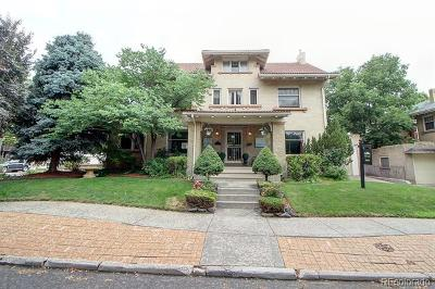 Denver, Lakewood, Centennial, Wheat Ridge Single Family Home Active: 1401 Madison Street