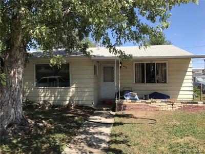 Commerce City Single Family Home Active: 6676 Clermont Street