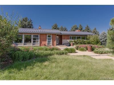 Denver Single Family Home Active: 4200 East Cedar Avenue