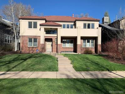 Denver Single Family Home Active: 1010 South Race Street