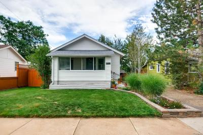 Denver Single Family Home Active: 4732 Beach Court