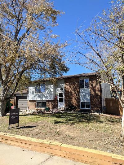 Aurora Single Family Home Active: 2879 South Memphis Street