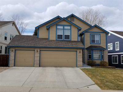 Littleton Single Family Home Under Contract: 6197 South Urban Street