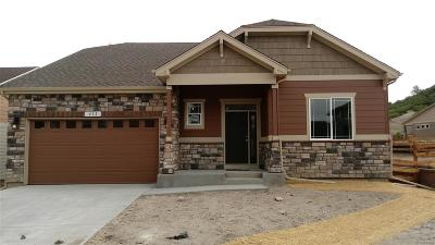 Castle Rock Single Family Home Active: 660 Sage Grouse Circle
