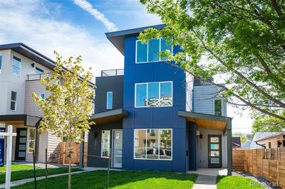 Denver Condo/Townhouse Active: 1568 Wolff Street