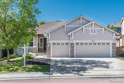 Highlands Ranch Single Family Home Active: 2570 Pemberly Avenue