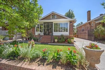Denver Single Family Home Active: 4444 Clay Street