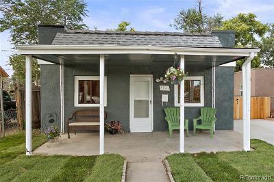 Denver Single Family Home Active: 3351 West Ohio Avenue