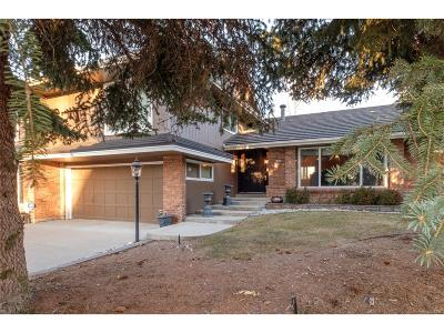 Centennial Single Family Home Active: 4849 East Links Drive