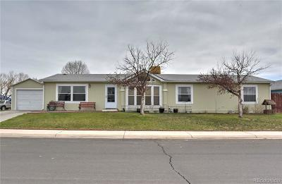 Commerce City Single Family Home Under Contract: 8384 Kearney Street
